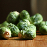 Roasted Brussel Sprouts with Figs & Pecans
