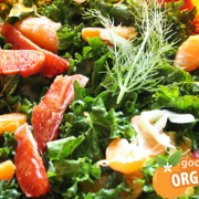 Fennel, Blood Orange and Kale  salad