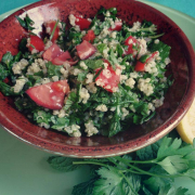 Quinoa Tabbouleh with Parsley and Mint