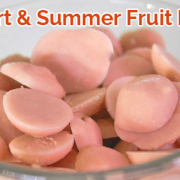 Summer Fruit Yogurt Melts