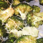 Roasted Parmesan Lemon Broccoli