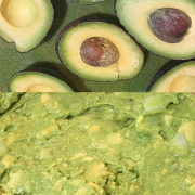 Guacamole with Spring Onion