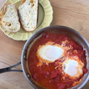 10 Minute Simple Shakshuka