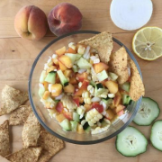 Peach Corn Salsa