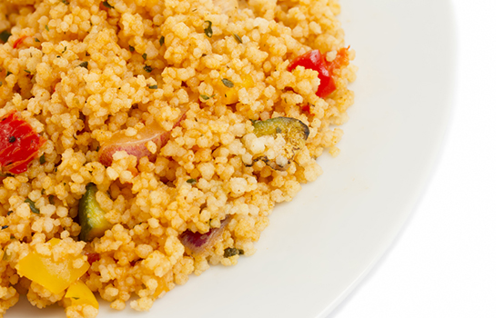 Sautéed Zucchini and Bell Pepper Cous Cous
