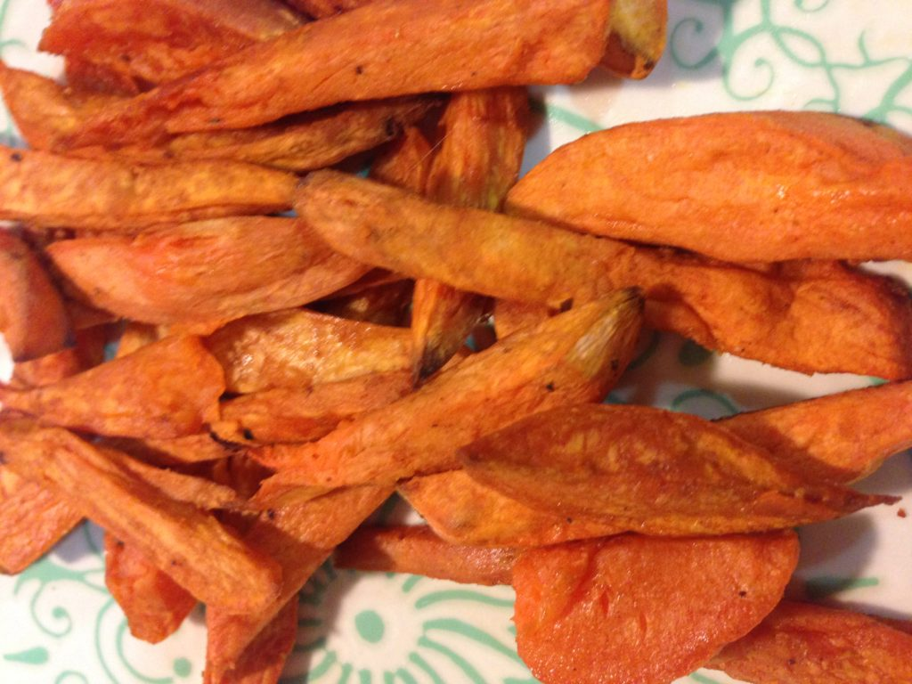 Sweet Potato Fries with Chili Cumin Seasoning