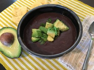 Black Bean Soup With Celery
