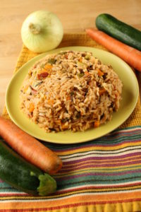Spanish Rice with Carrots