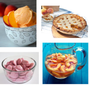 Stone Fruit Recipe Round Up